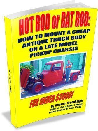 rat rod trucks plans