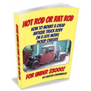 Hot Rod Truck Rat Rod Truck Budget Build